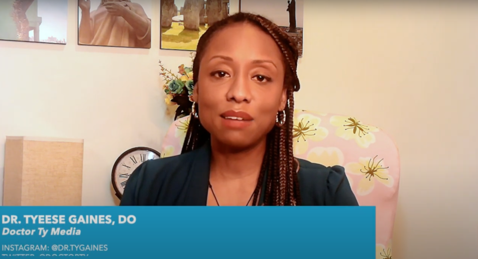 Tyeese Gaines -- Why Get The Vax | COVID-19 Vaccine Education Initiative